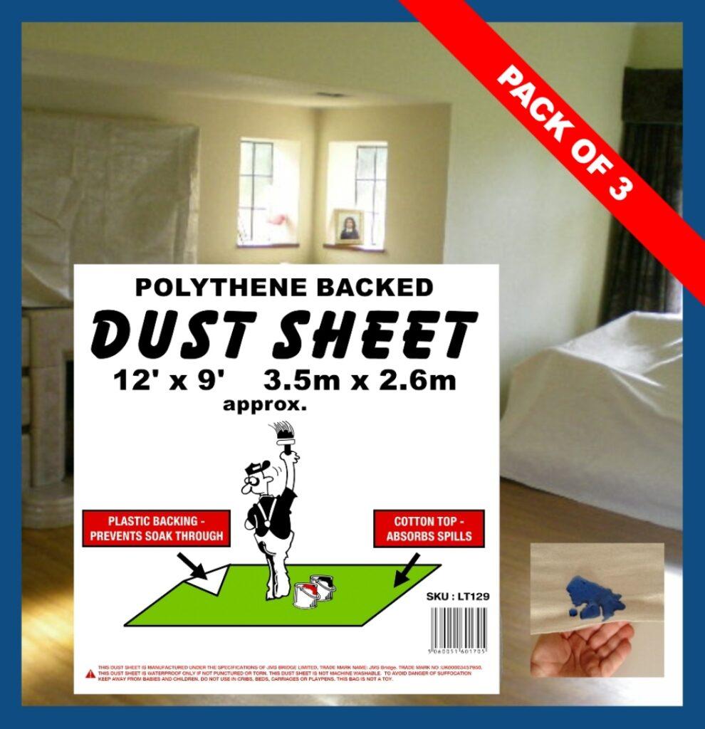 Polythene Backed Dust Sheet