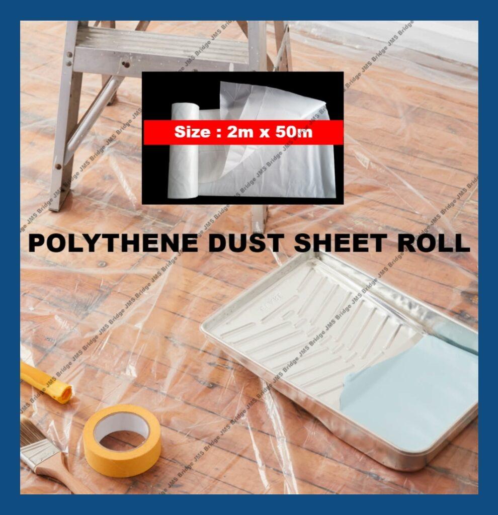 Polythene Dust Sheet Roll
